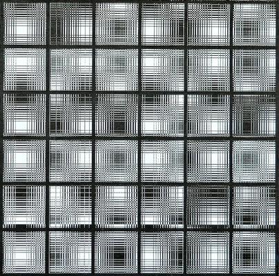 Jo Zähringer, Digitales Fotogramm, 2020, Druck, 60 x 84 cm, datiert und signiert, 160,- €