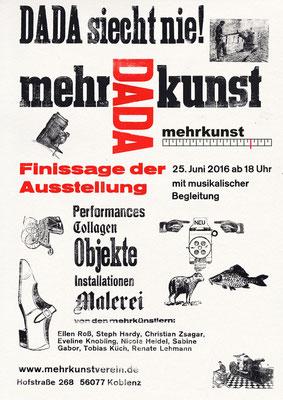 mehrkunst im dada- jahr, mehrkunst e.V.  Hofstraße 268, 56077 Koblenz