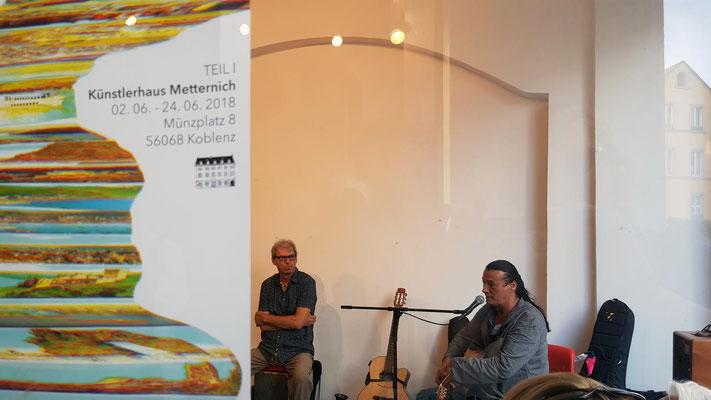 David Hardy & David Weiss, mehrkunst e.V. Koblenz 2018