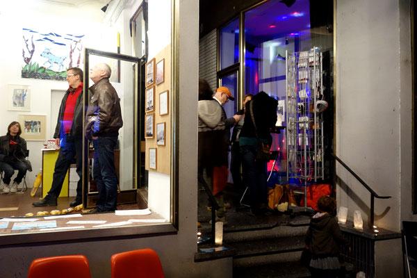 mehrkunst während der Ehrenbreitsteiner Kunsttage 2015