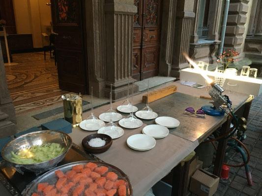 Vorbereitungen abgeschlossen.....Gäste können kommen...August / Augsburg