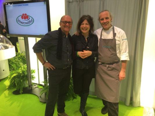 mit Maria Groß und Heiko Antoniewicz in Stuttgart Intergastra