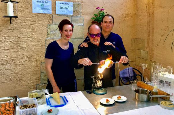 Kochen mit Freunden, Garbo im Löwen Eggenstein