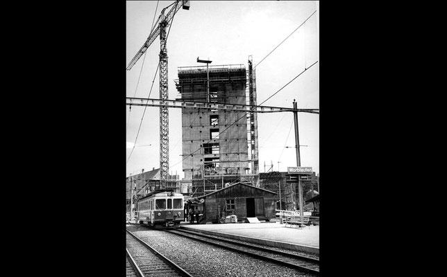 Worblaufen, Neubau Metrohaus 1972