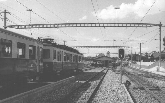 Worblaufen, Depot-1, Gleisanlage