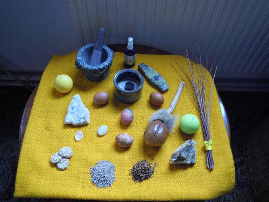 Altar für Ostara