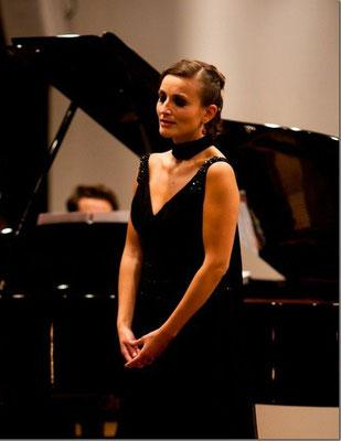 Récital lyrique soliste, Paris oct. 2010