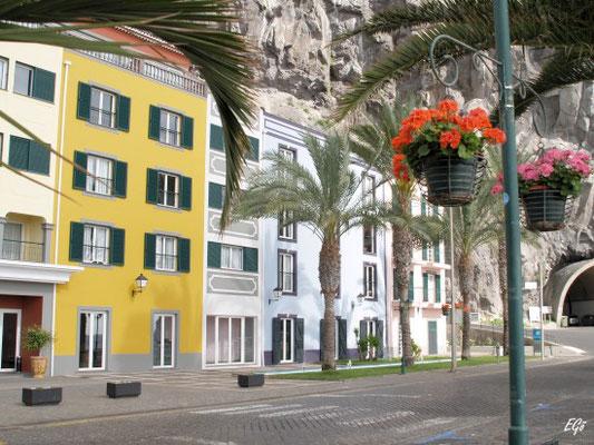 Der Ort Punto do Sol, der wegen des Feiertages wie ausgestorben war.