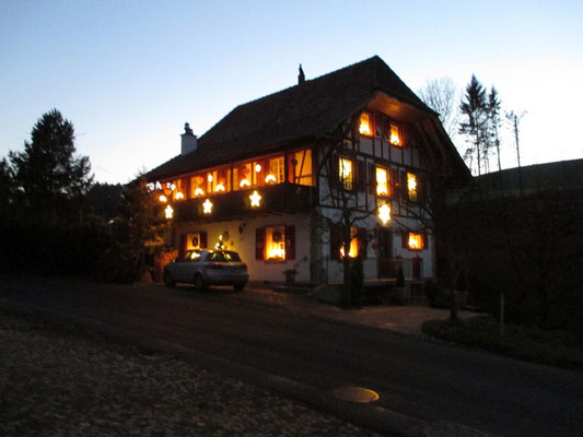 Impressionen vom Weihnachtsweg - Jordi-Hof Bewirtung und Übernachtung auf dem Bauernhof in Ochlenberg