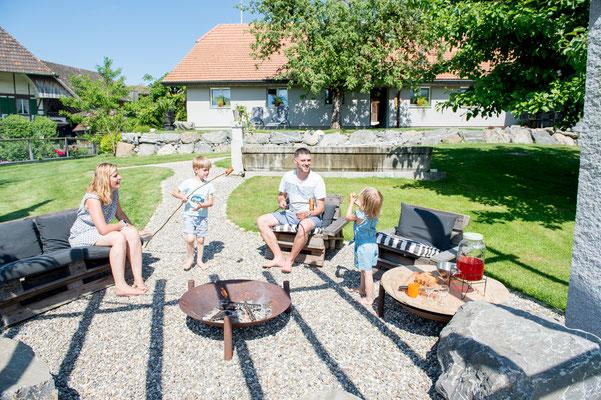 Gästebewirtung für Anlässe jeder Art - Jordi-Hof Bewirtung und Übernachtung auf dem Bauernhof in Ochlenberg