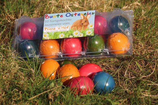 Bunte Ostereier ab der Karwoche - nur zu Ostern!