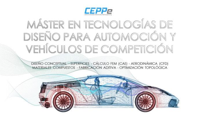 MÁSTER EN TECNOLOGÍAS DE DISEÑO PARA AUTOMOCIÓN Y VEHÍCULOS DE COMPETICIÓN