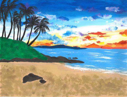 """Anuhea K., """"Beautiful Sunset"""""""