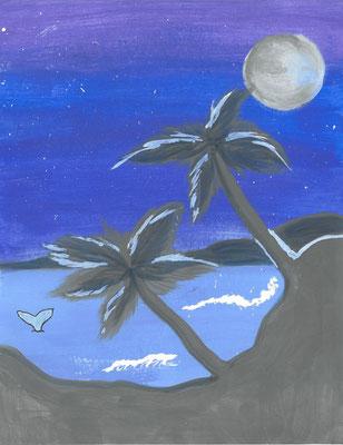 """CJ T., """"Sunset Paradise"""""""