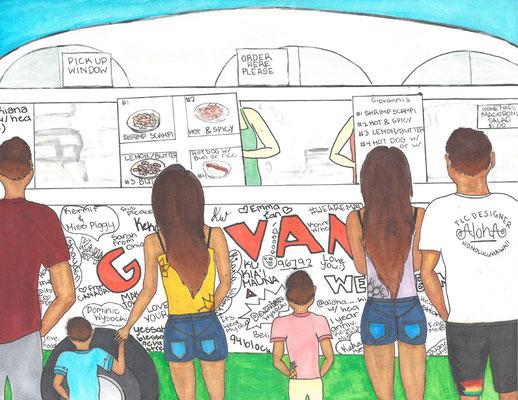 """Kiana W., """"Family Trip Around the Island"""""""