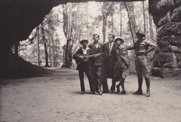 Ferienausflug nach Salzburg, 1930