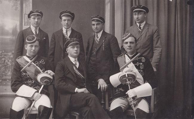 Karl Schweinhammer, Leo Sales, Leo Riedl, Alexis Waldhütter, Hans Chan, Josef Frank, H. Kobliska