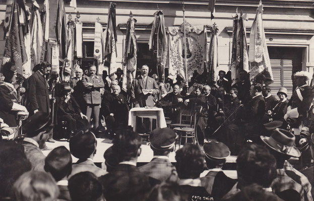 Katholikentag in Gänserndorf, Sommer 1930