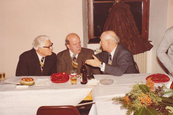 Mag. Rudolf Schilder v. Dr.cer. Rudi, Ing. Alexis Waldhütter v, Ingo, Ing. Hermann Grün v. Giselher
