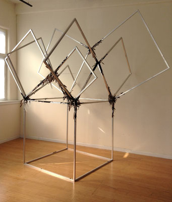 Euclid, Aluminum, Metal Clamps, Tar & Feathers, 12' x 12' x 10'