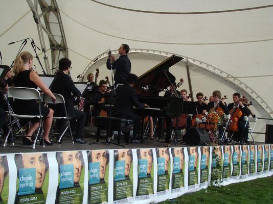 Klassik Open Air, Open Air Bühne, Chopin Gesellschaft Hannover, Konzertmuschel
