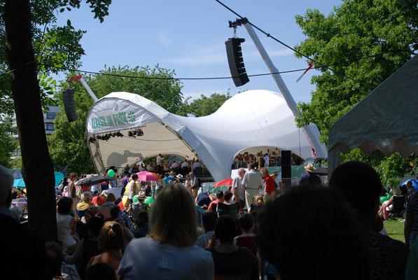 Klassik Open Air, Bühne, Open Air Bühne, Klassik im Park Braunschweig, Konzertmuschel