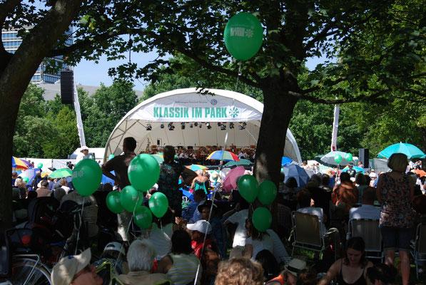 Klassik Open Air, Open Air Bühne mieten, Klassik im Park Braunschweig, Konzertmuschel