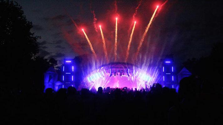 Bühne mieten, World Club Dome, Frankfurt, Veranstaltungstechnik