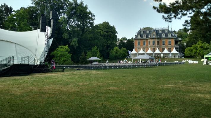 Klassik Open Air, Open Air Bühne mieten, Classic Open Air, Konzertmuschel, Winterthur, Orchester