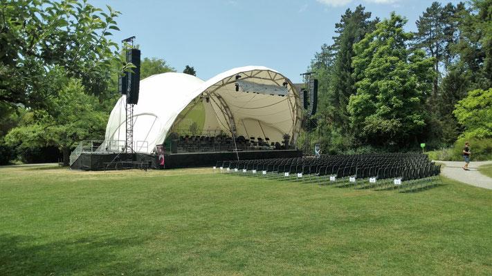 Classic Open Air, Bühne, Orchester Konzert, Winterthur, Klassik, Bühne mieten, Konzertmuschel