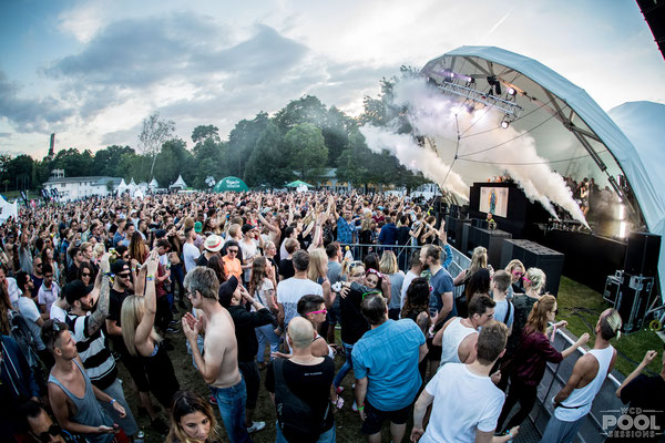 World Club Dom,  Pool Sessions, Symphonic Stage, Open Air, Bühne mieten, Frankfurt,
