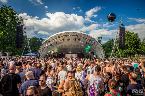 World Club Dome, Bühne, Pool Sessions, WCD, Symphonic Stage, Open Air, Bühne mieten, Frankfurt,