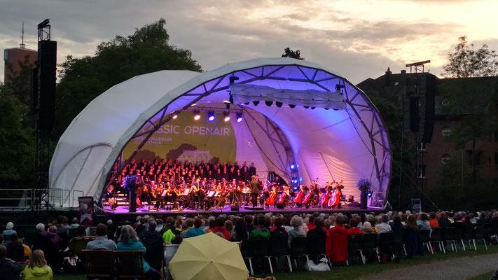 Klassik Open Air, Open Air Bühne mieten, Bühne, Open Air Konzert, Winterthur, Konzertmuschel