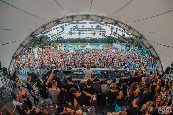World Club Dome, Bühne, Pool Sessions, Symphonic Stage, Open Air, Bühne mieten, Frankfurt,
