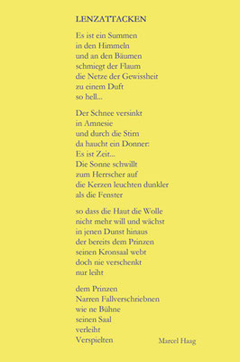 Deutsche Poesie - Lunaccusatio- Marcel Haag