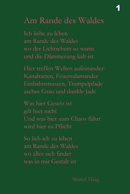 Deutsche Poesie - Am Rande des Waldes - Marcel Haag