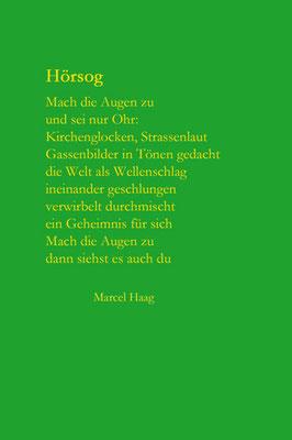 Deutsche Poesie - Hörsog - Marcel Haag