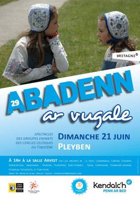 Avel Dro - Abadenn Ar Bugale - Pleyben 2015