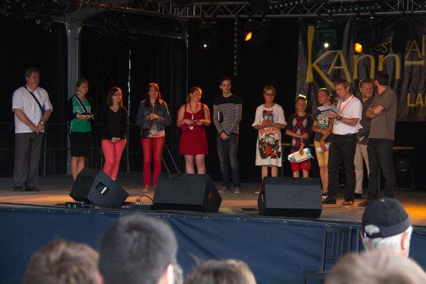 Les gagnants du concours de danse Keff. BRAVO  Les garçons ! ;)