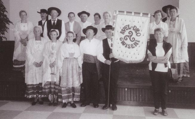 Avel Dro Bagad Pagan - Présentation du fanion 1997