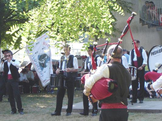 Bagad Pagan - Concours 5ème catégorie - Carhaix - 2005