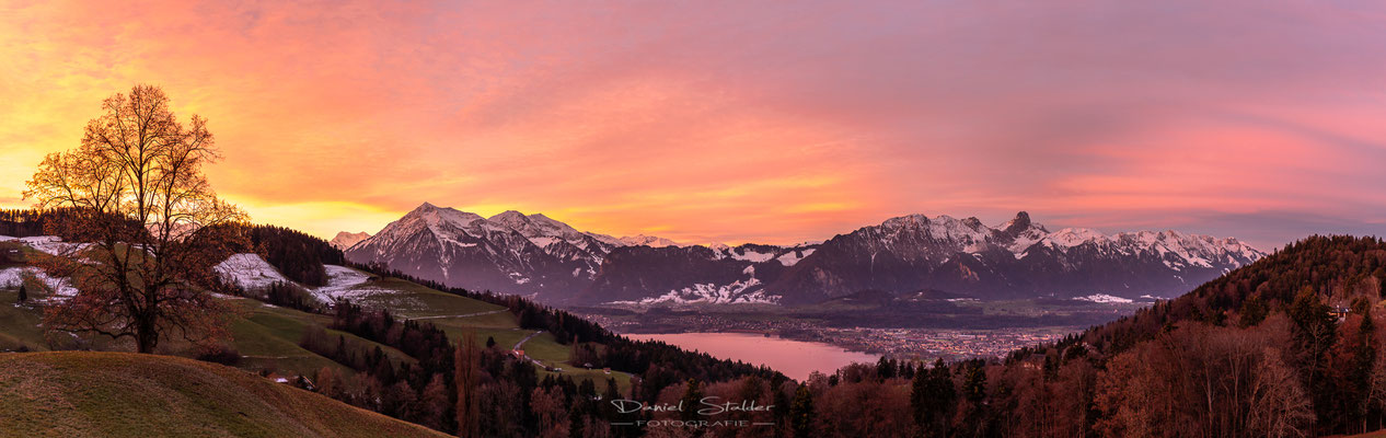 Sonnenaufgang in Goldiwil