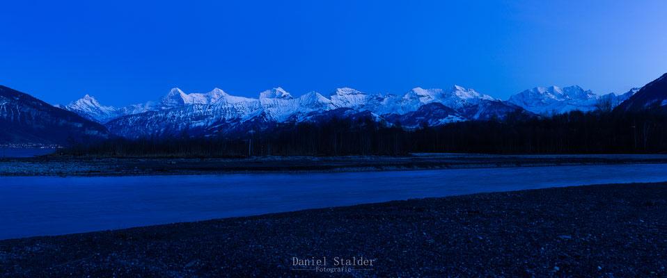 Panorama Eiger Mönch und Jungfrau