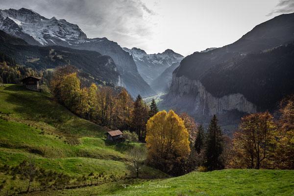 Herbst im Lauterbrunnental -L51-