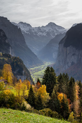 Herbst im Lauterbrunnental -L50-
