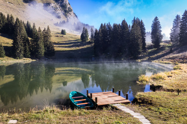 Lac Retaud auf dem Col du Pillon    -L3-