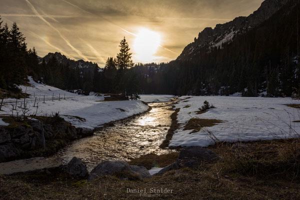 Sonnenuntergang im Diemtigtal    -L10-