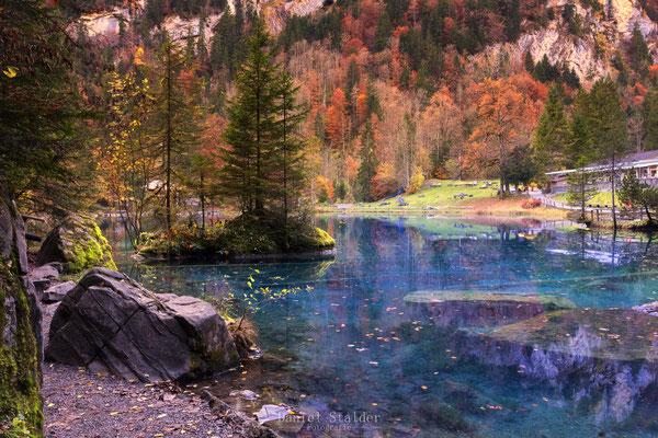 Blausee im Kandertal    -L14-