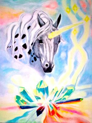 Einhorn Pastell ©Tara Moos