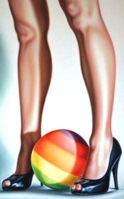 BALL, 140x100cm, Öl auf Leinwand, 2014